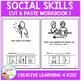 Cut & Paste Social Skills Workbook 1 ABA Autism