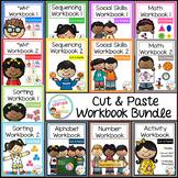 Cut & Paste Workbook Bundle {Complete Set} Autism
