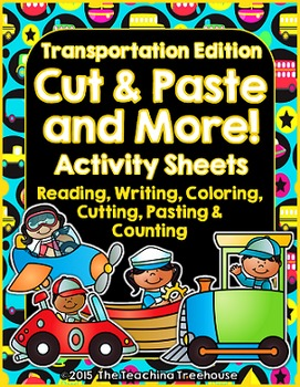 Cut & Paste and More! ~ Transportation Edition
