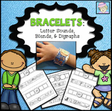 Letter Sound Bracelets (with Blends and Digraphs)
