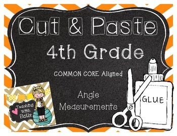 Cut and Paste Angle Measurements CC 4MD.C7