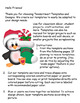 Cut and Paste Christmas Penguin Set