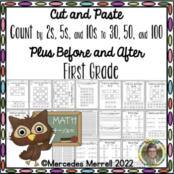Cut and Paste Count By 2s, 5s, 10s, to ... PLUS Before and