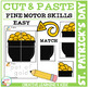 Cut and Paste Fine Motor Skills Worksheets: St. Patrick's