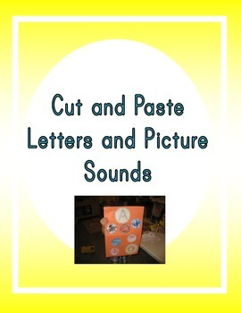 Cut and Paste Letter and Picture Sounds
