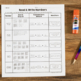 Cut and Paste Math Activities for Second Grade {NBT} NO PREP