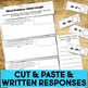 Cut and Paste Math Activities for Second Grade {MD & G} NO PREP