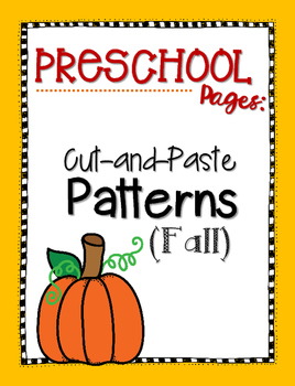 Cut-and-Paste Patterns {Fall}