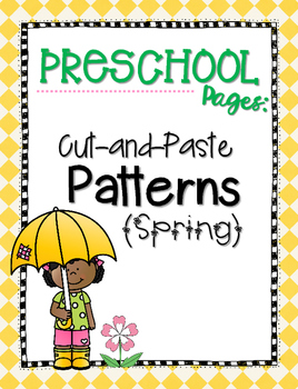 Cut-and-Paste Patterns {Spring}