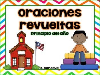 Scrambled Sentences SEPTEMBER  in Spanish
