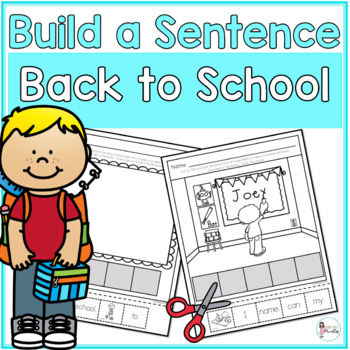 Cut and Paste Sentences_Back to School