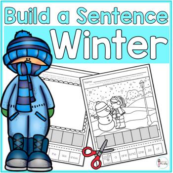 Cut and Paste Sentences_Winter Edition