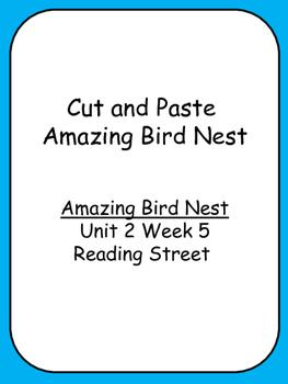 Cut and Paste Unit 2 Reading Street  Amazing Bird Nests Co