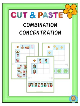 Cut and paste combination concentration