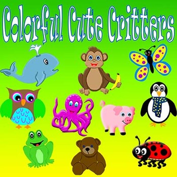 Cute Animals Clipart