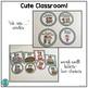 Cute Classroom! (bright polka dot alphabet, number and sha
