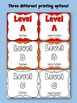 Labels for Classroom Library - Color-Coded & Leveled