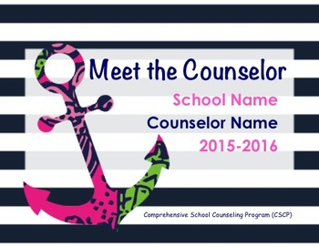 Cute Counseling Presentation - Let them know what you do!
