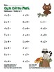 """Cute Critter Math"" Multiply 4 - Common Core - Multiplicat"