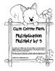 """""""Cute Critter Math"""" Multiply Common Core - Multiplication"""