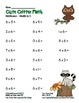 """Cute Critter Math"" Multiply 6 - Common Core - Multiplicat"