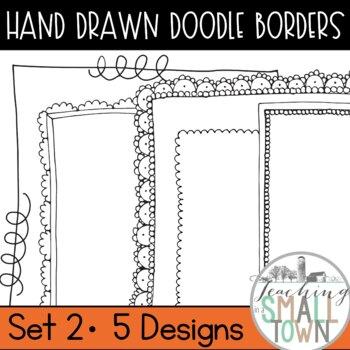 Cute Doodle Frames- 18 Frames for Commercial Use