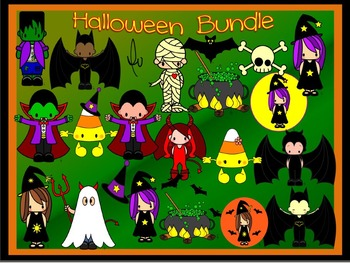 Halloween Clipart- Cute Graphics