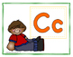 Cute Kids Alphabet Cards
