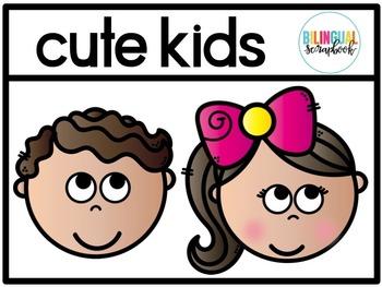 Cute Kids Clip Art FREEBIE