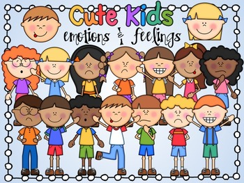 Cute Kids: Feelings and Emotions