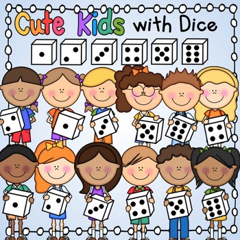 Cute Kids with Dice