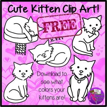 Free Kitten Clip Art
