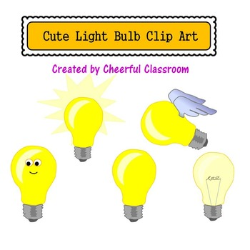 Lightbulbs (Cute Clipart)
