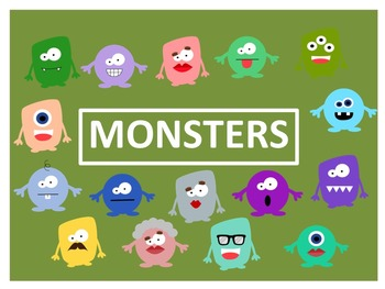 Monsters Clip Art