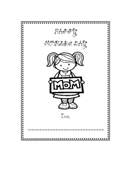Cute Mother's Day Paper Bag Book Gift