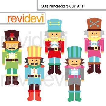Cute Nutcrackers clip art