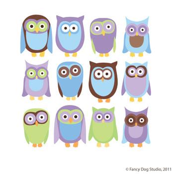 Clipart Owls