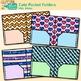Cute Pocket Folder Clip Art - Back to School Supplies Clip