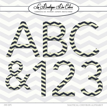 Cute Blue navy Chevron Blue navy Chevron Clipart