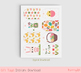 Cute printable Easter gift tags,  Digital Easter favor tag