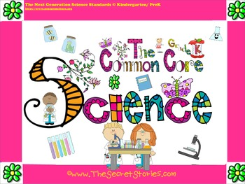 Cutest EVER Common Core SCIENCE STANDARDS Posters for Kind
