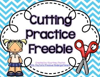 Cutting Practice Freebie
