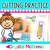 Cutting Practice Pack (Beginning of Kindergarten Scissor P