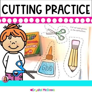Cutting Practice Pack (Beginning of Kindergarten Scissor P