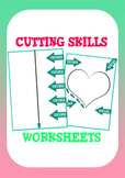 Cutting and Fine Motor Skills Activity: 8 cutting template pages