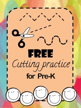 Cutting practice for preschool