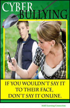 Cyber Bullying Poster