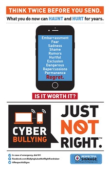Cyberbullying - Poster