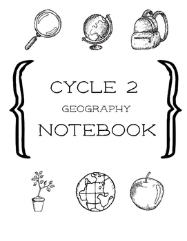 Cycle 2 Geography Mapping Notebook ALL WEEKS (use w/ Class