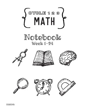 Cycle 2 Math Activity Notebook ALL WEEKS Worksheets